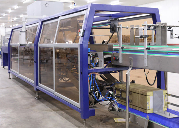 Fast Speed Shrink Packaging Equipment And Carton Box Stretch Wrapping Machine