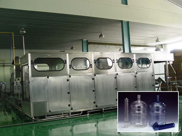 Full Automatic 5 Gallon Water Filling Machine For Pure And Mineral Water